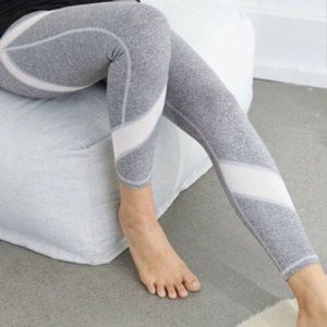 Aerie Chill Play Move 7/8 Leggings - Grey White